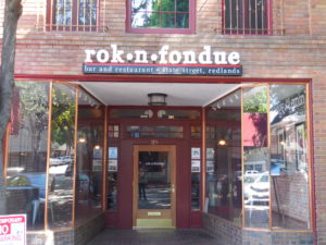 Redlands Conservancy Adaptive Reuse Winner Rok n Fondue