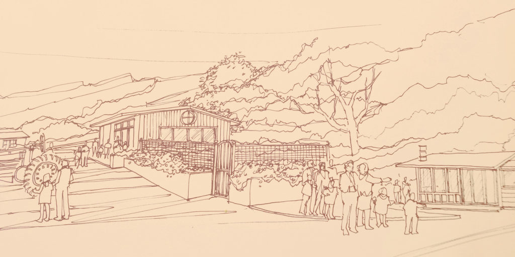 Artist's rendering of Gateway Ranch